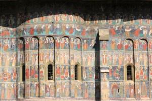 Romania Hand Painted Monastery Moldova